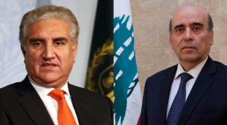 FM Qureshi expresses sorrow over loss of lives in Beirut