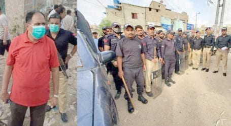 Grand operation launched to remove encroachments along Karachi's drains