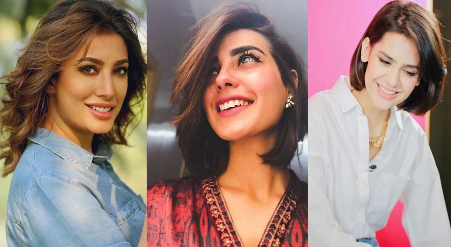 Pakistani Actresses Who Slayed In Short Hair Mm News Tv