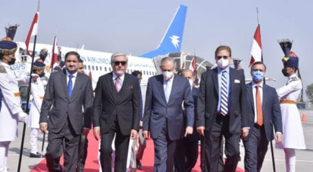 Afghan reconciliation leader arrives in Islamabad