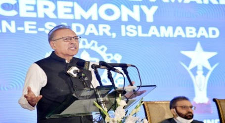 President Alvi urges more efforts to boost country's exports