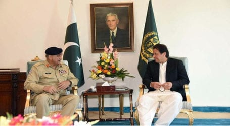 Army chief, PM Imran discusses national, regional security issues