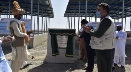 FAO inaugurates market, livestock sheds in South Waziristan