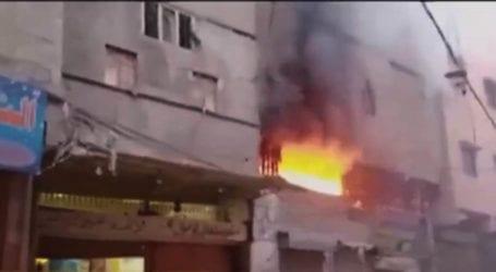 Fire erupts in Karachi's Hijrat Colony, 4 dead