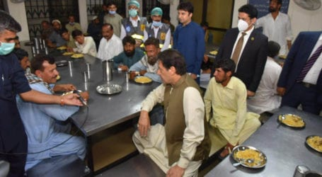 PM Imran visits model shelter home in Islamabad