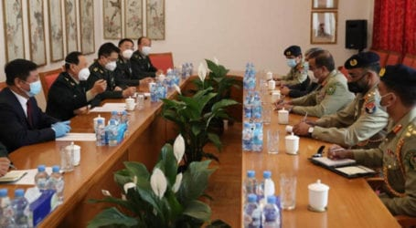 CJCSC meets Chinese defence minister in Moscow