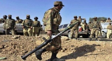 Security forces kill five terrorists in Waziristan