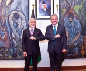Afghan negotiator discusses peace process with FM Qureshi