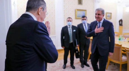 Qureshi invites Russian Foreign Minister to Pakistan