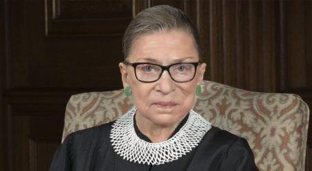 US Supreme Court Justice Ruth Bader Ginsburg passes away