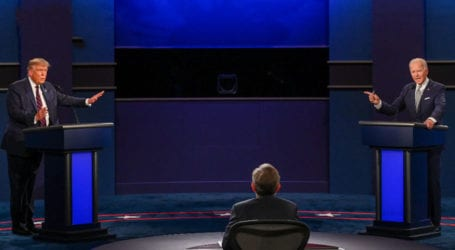 Trump, Biden clash at fiery first presidential debate