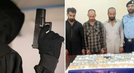 Inter-provincial gang of robbers arrested in Islamabad