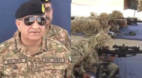 Bahawalpur visit: COAS Bajwa lauds soldiers' professional prowess