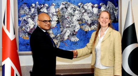 Pakistan, UK hold consultations on arms control, non-proliferation