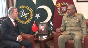 Turkish defence minister lauds Pakistan's sacrifices