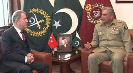 Turkish minister lauds Pakistan's sacrifices in fight against terrorism