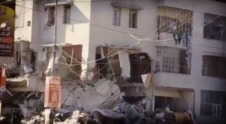 CCTV footage surfaces of Gulshan-e-Iqbal explosion