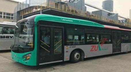 BRT Peshawar adds 10 new buses to its fleet
