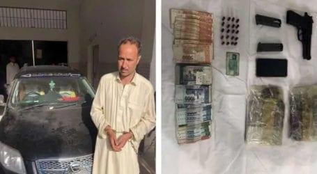 Inter-provincial drug smuggler arrested in Karachi
