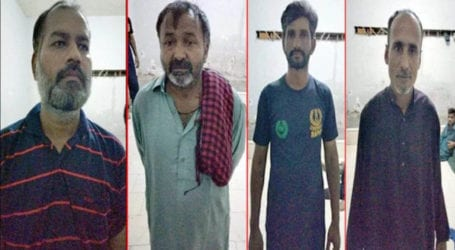 4 drug peddlers, gamblers arrested in Mehmoodabad