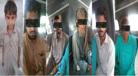 Child recovered: Police arrest five kidnappers in Karachi