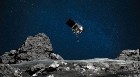 NASA probe touches down on asteroid Bennu in historic mission