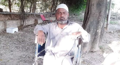 Disabled man appeals for financial assistance