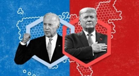 Election Day: Trump leads Biden in Florida, race close in other states