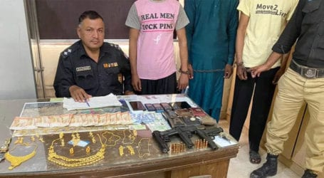 Police nab three gang members involved in house robberies