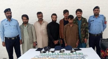Islamabad police arrests six-member gang involved in street crimes