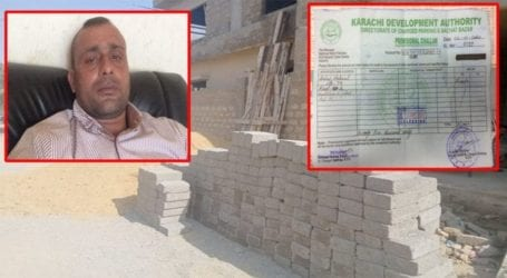 KDA officers issue fake receipt for building material