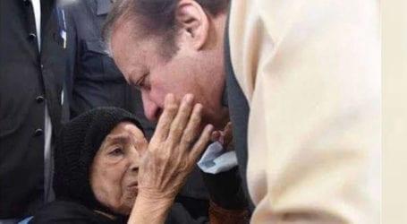 Body of Nawaz Sharif's mother arrives in Lahore