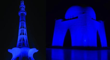 World Children's Day: 25 monuments to turn blue across Pakistan