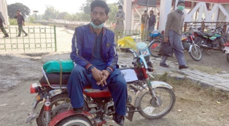 Physically challenged man appeals for job from disabled quota