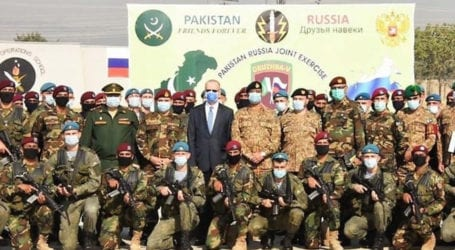 Pakistan, Russian special forces busy in practicing Counter-Terrorism drills: ISPR