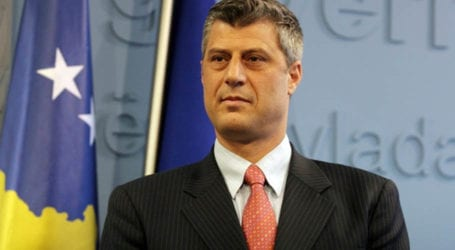 Kosovo president resigns to face war crimes court