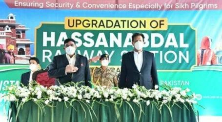 PM inaugurates British-era Hasan Abdal railway station