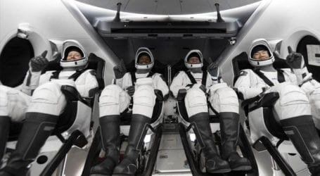 SpaceX launches second crew of astronauts into space