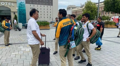 Pakistan team returns to training after two weeks of isolation