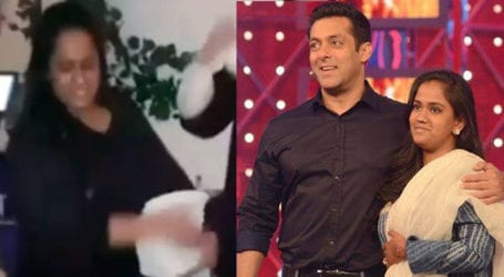 Video of Salman Khan's sister breaking plates in hotel goes viral