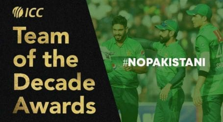 No Pakistani cricketer named as ICC announces teams of decade