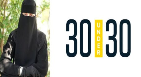 First American 'niqabi' woman makes it to Forbes '30 Under 30' list