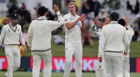 Pakistan cricket team out for 239 against New Zealand