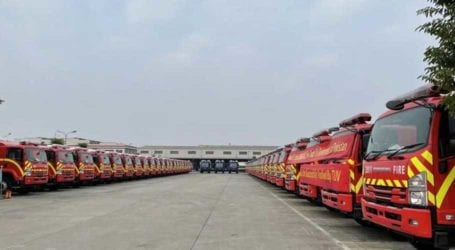 Karachi to get 52 modern fire trucks manufactured by Chinese company