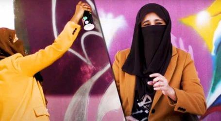 Meet the boundary-breaking women of Karachi's Graffiti scene