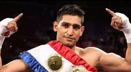 Boxer Amir Khan announces return to ring once again