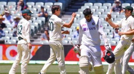 Australia dismiss India for lowest ever Test score