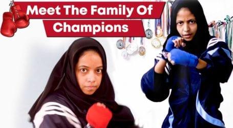 Meet the Pakistani family of boxing champions