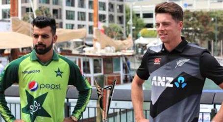 Pakistan decides to bat first New Zealand T20I