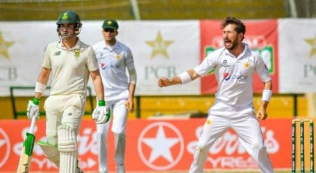 Yasir Shah strikes late to put Pakistan on top against South Africa